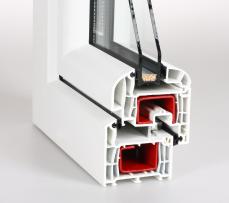 Plastová okna Vsetín - profil